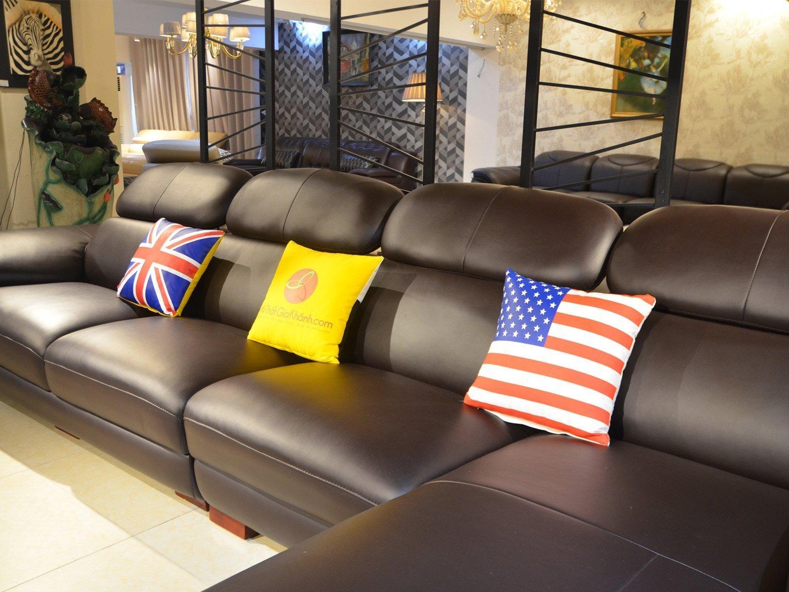 sofa da 9333SF 7 - Ghế sofa phòng khách hiện đại ST0933-3-A1