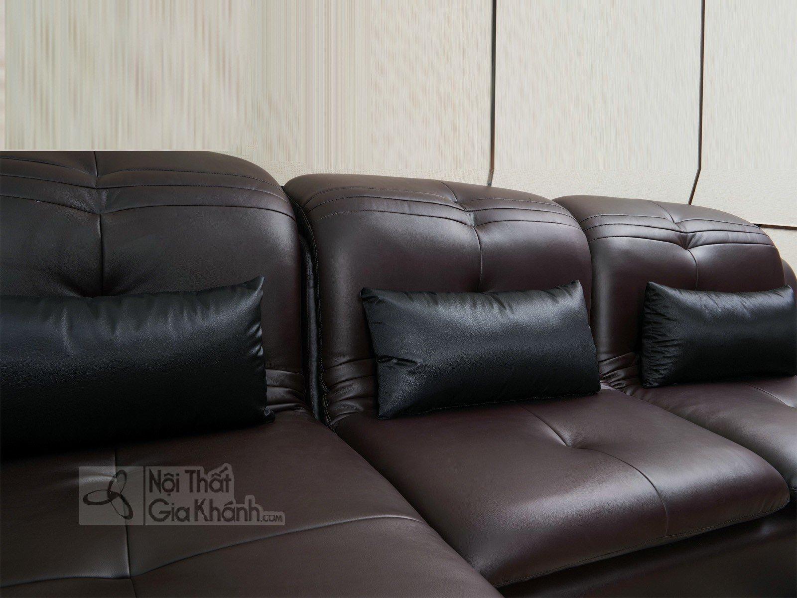 SOFA NÂU CAFE HIỆN ĐẠI 2 BĂNG GÓC PHẢI MÃ 9026SF - sofa hien dai 9026SF 3020x1800 3