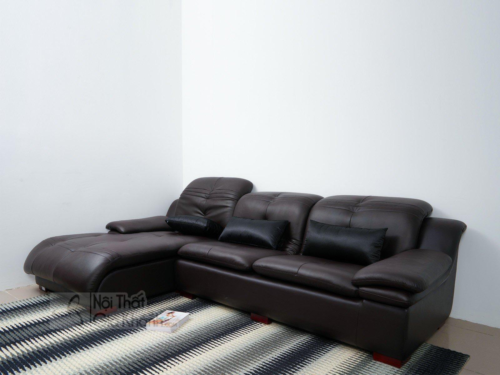 SOFA NÂU CAFE HIỆN ĐẠI 2 BĂNG GÓC PHẢI MÃ 9026SF - sofa hien dai 9026SF 3020x1800 5