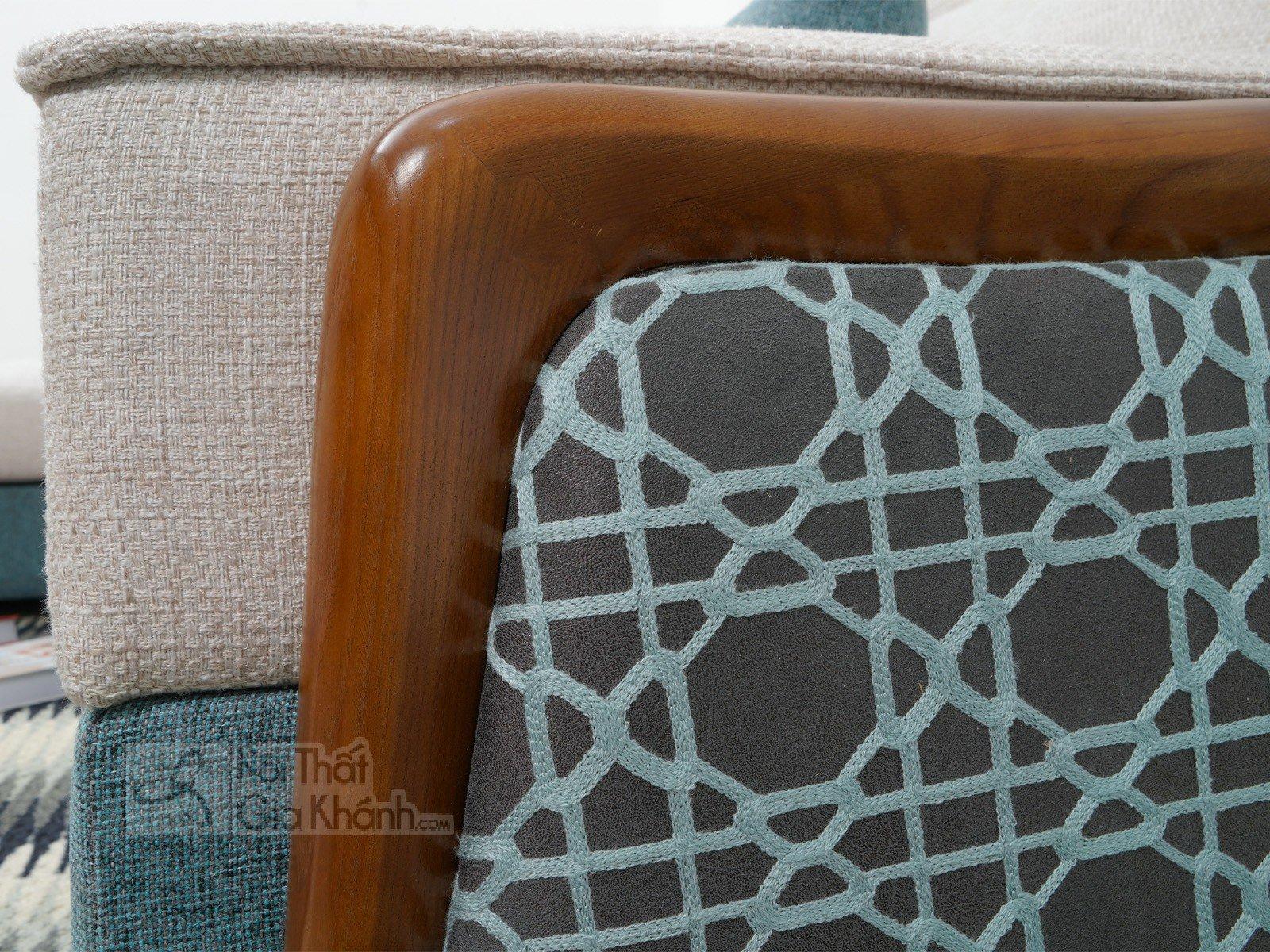 Bàn ghế Sofa vải nhập khẩu cao cấp 2 băng MR801C-SF - sofa hien dai MR801C SF 2900x1800x850 10