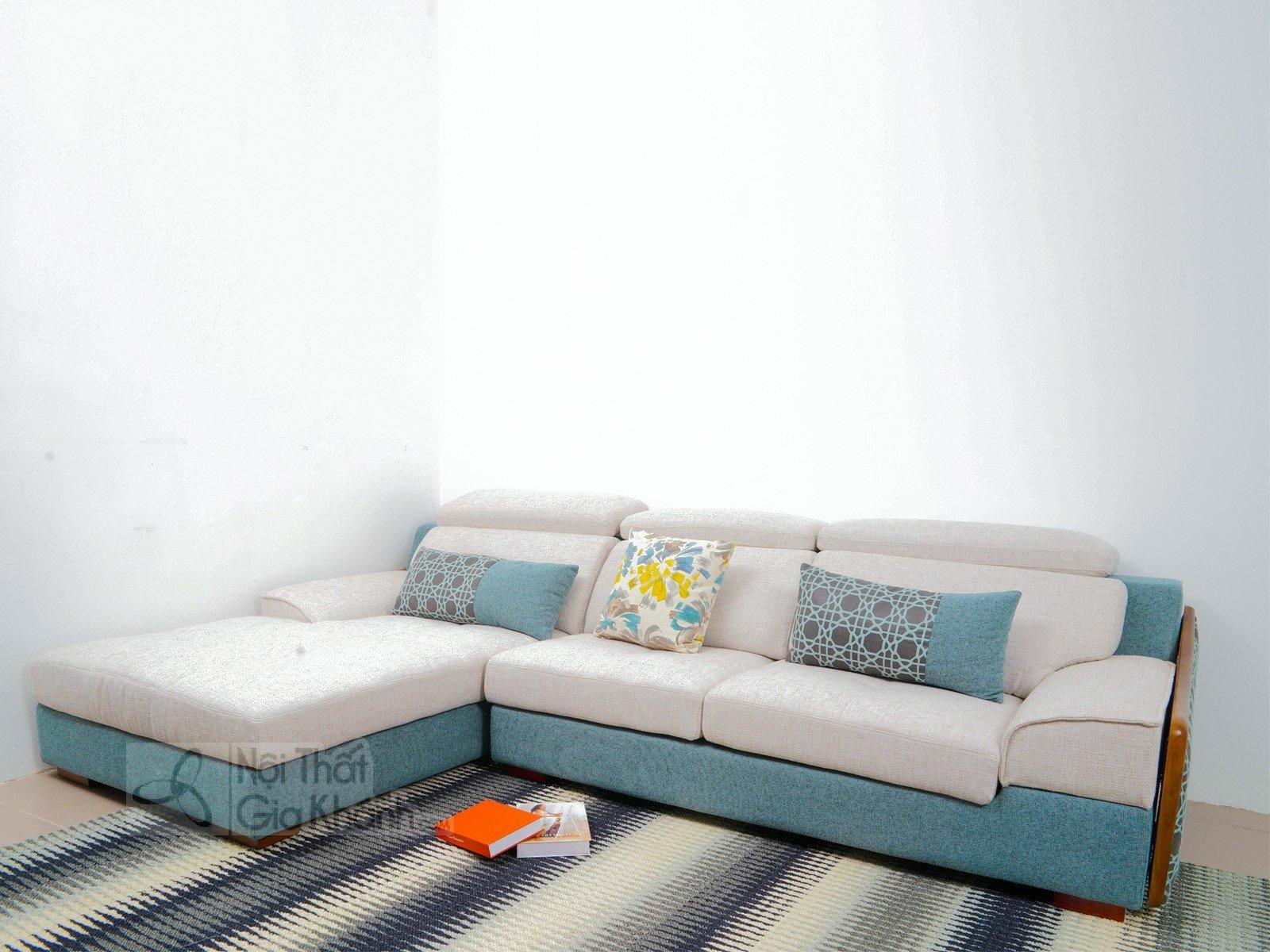 Bàn ghế Sofa vải nhập khẩu cao cấp 2 băng MR801C-SF - sofa hien dai MR801C SF 2900x1800x850 12