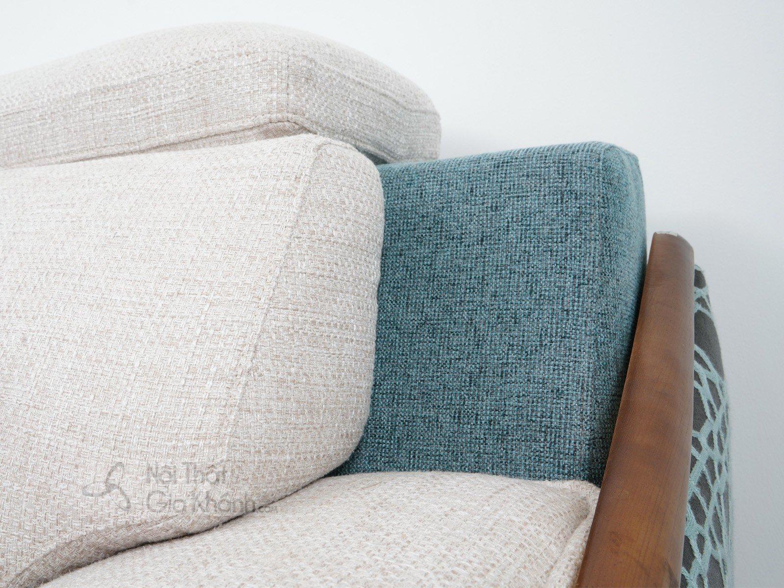 Bàn ghế Sofa vải nhập khẩu cao cấp 2 băng MR801C-SF - sofa hien dai MR801C SF 2900x1800x850 9
