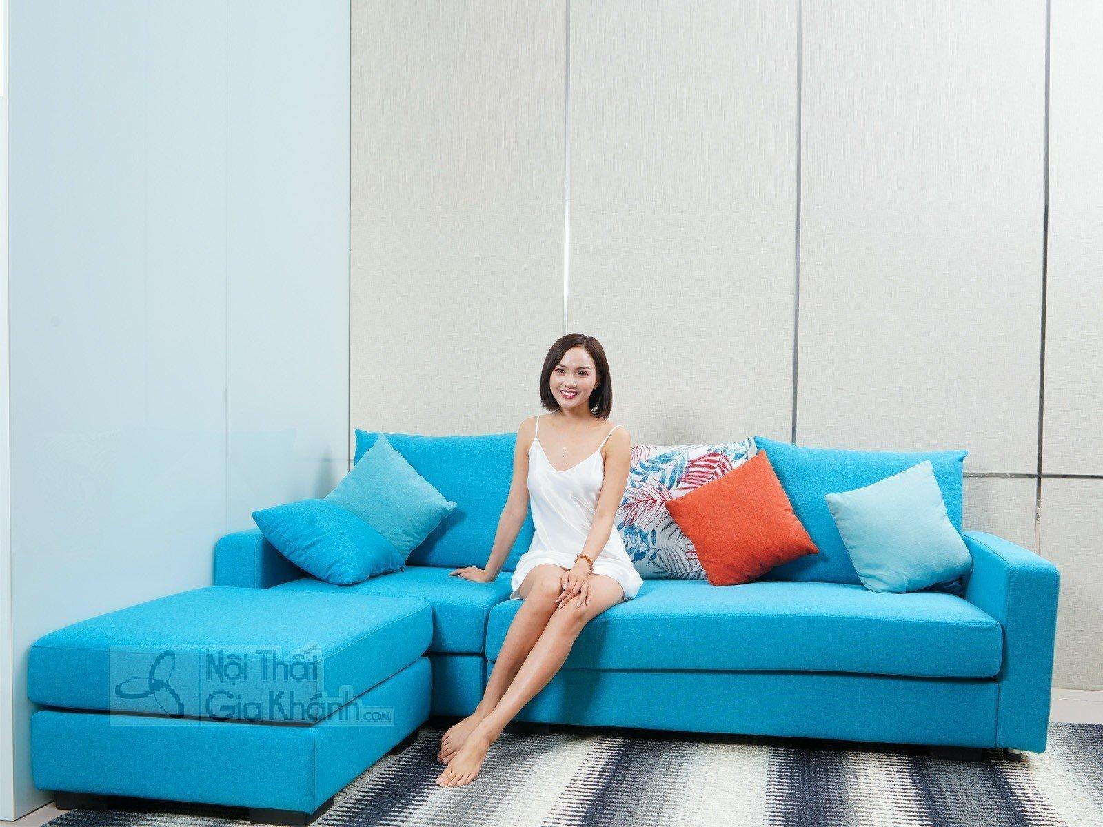 Sofa nỉ góc chữ L hiện đại SF309-2F - sofa hien dai MR825E SF 2250x960x825 don 750x750x730 5