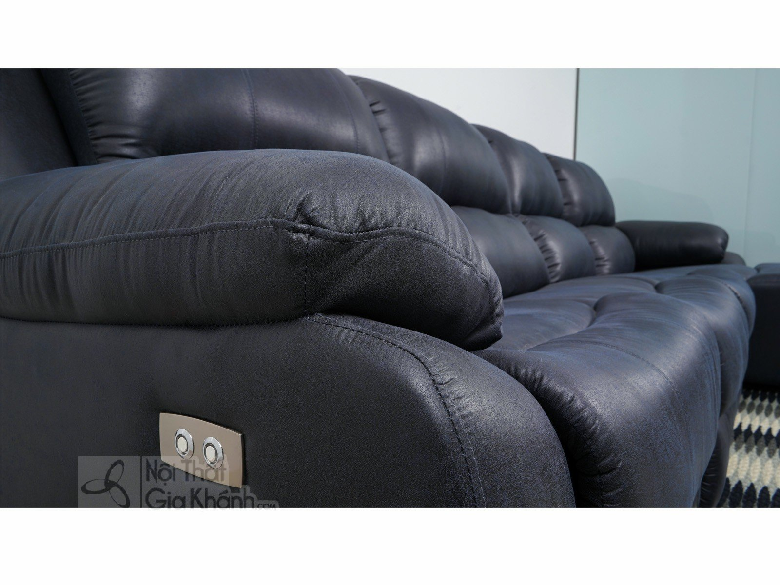 SOFA 3 BĂNG GÓC TRÁI NỈ NANO CÓ GHẾ NÂNG THƯ GIÃN MR843SF - sofa hien dai MR843SF 3200x1800x1000 4