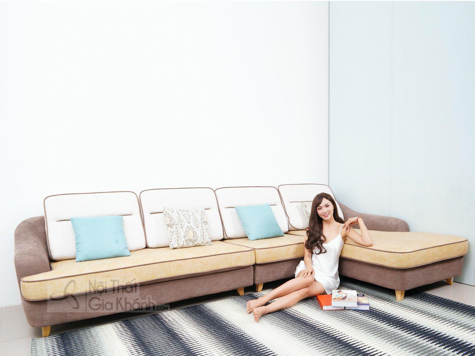 Sofa nỉ góc chữ L hiện đại SF309-2F - sofa hien dai S1607SF 3780x1820x950 1