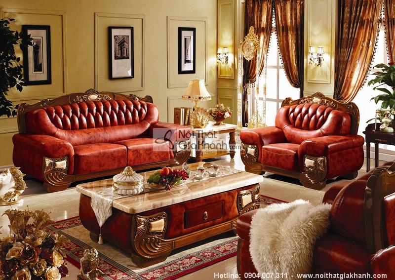 Các mẫu sofa tân cổ điển đăng cấp đáng mua nhất năm - sofa tan co dien 3