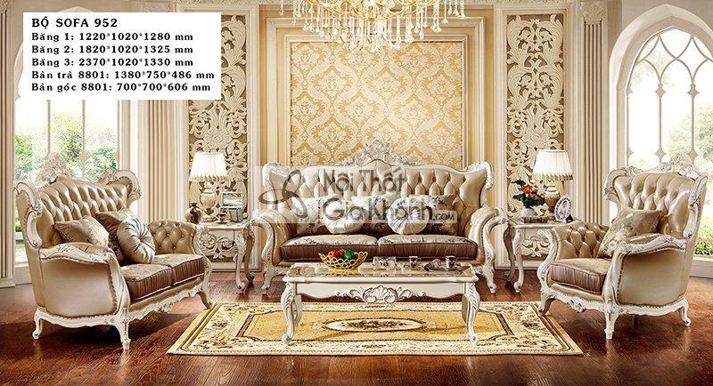 Các mẫu sofa tân cổ điển đăng cấp đáng mua nhất năm - sofa tan co dien 5
