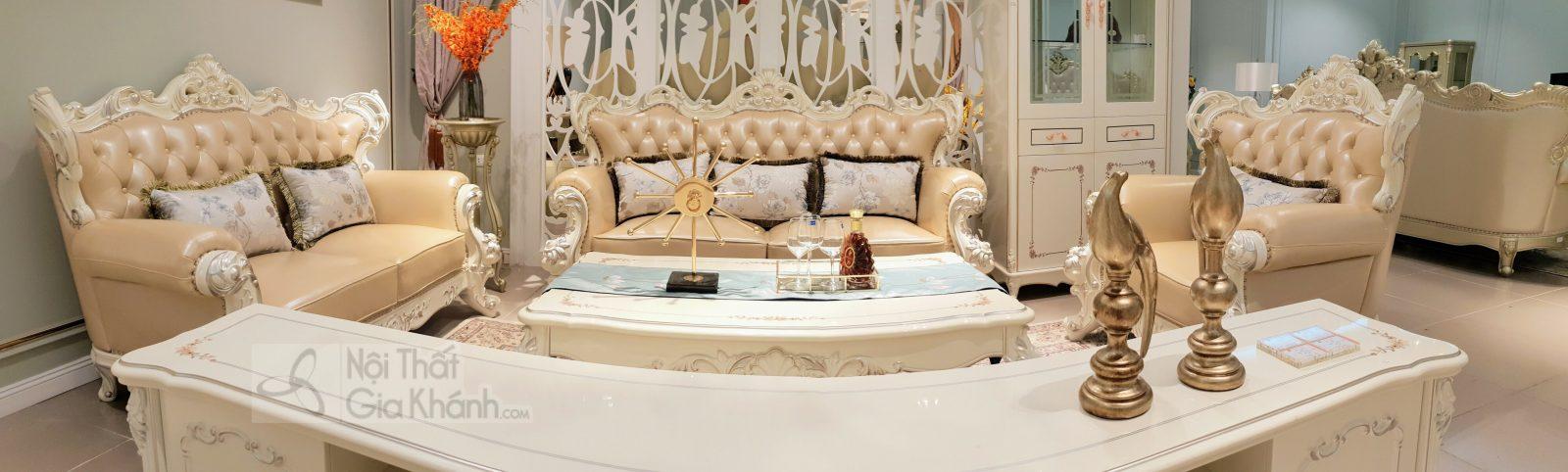 Sofa (salon) tân cổ điển đẳng cấp hoàng gia H963SF - sofa tan co dien H963SF 2