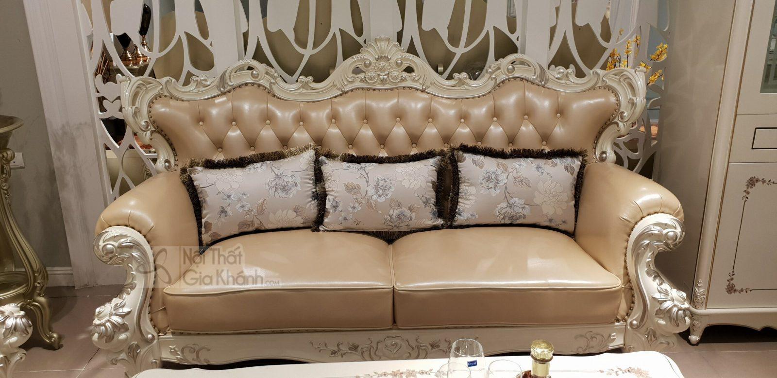 Sofa (salon) tân cổ điển đẳng cấp hoàng gia H963SF - sofa tan co dien H963SF 3