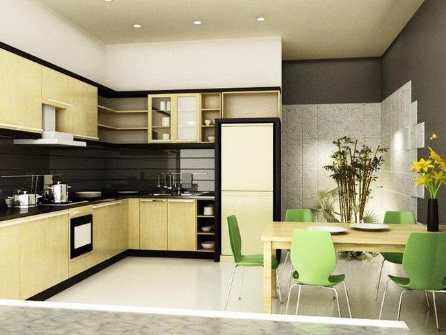 Giải pháp thiết kế ngôi nhà trở lên rộng rãi hơn - tai sao nha bep khong duoc chinh xung voi cua chinh