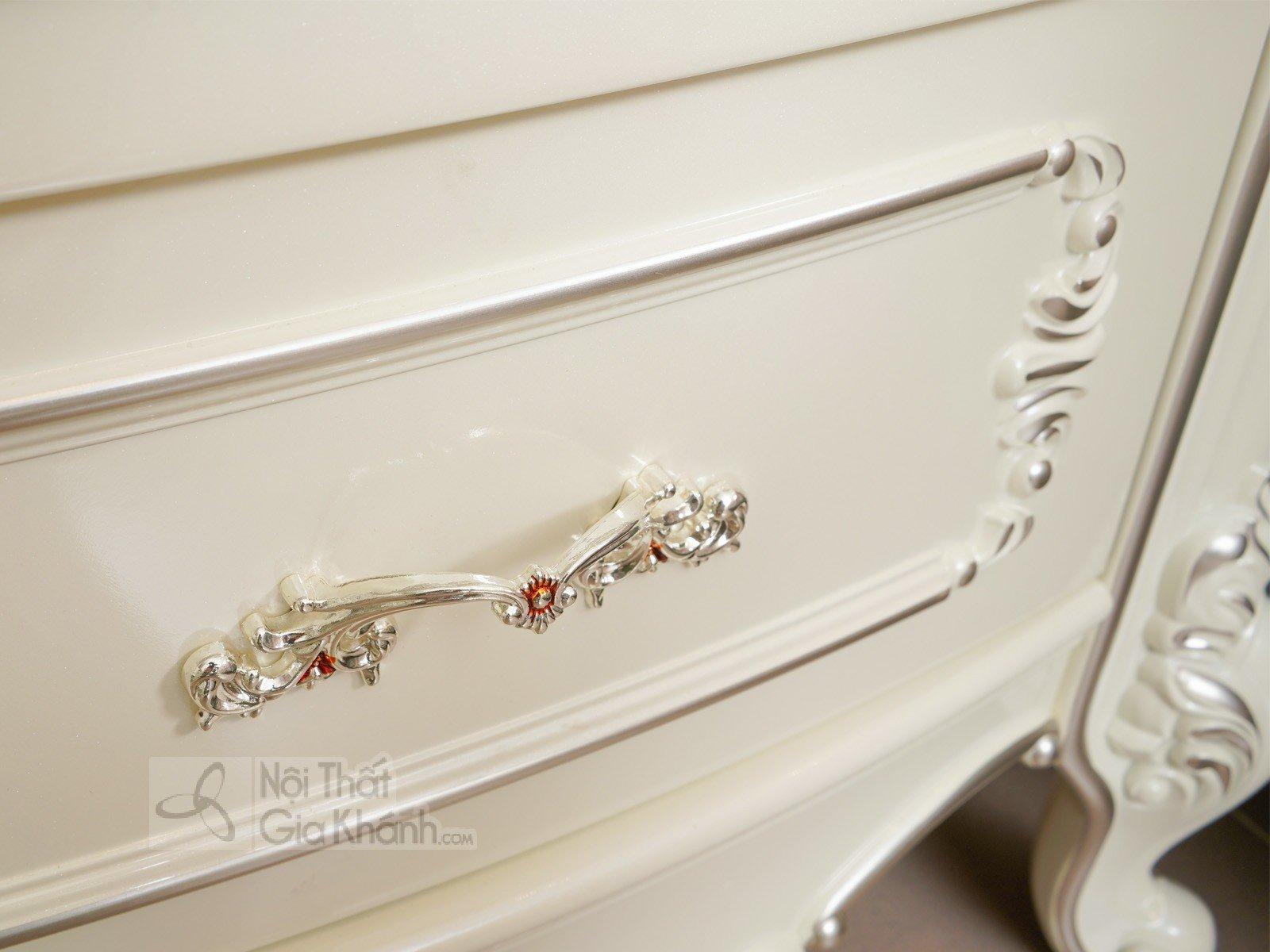 Táp đầu giường phong cách Pháp H8802B - tap dau giuong tan co dien H8802B 580x400x603 3