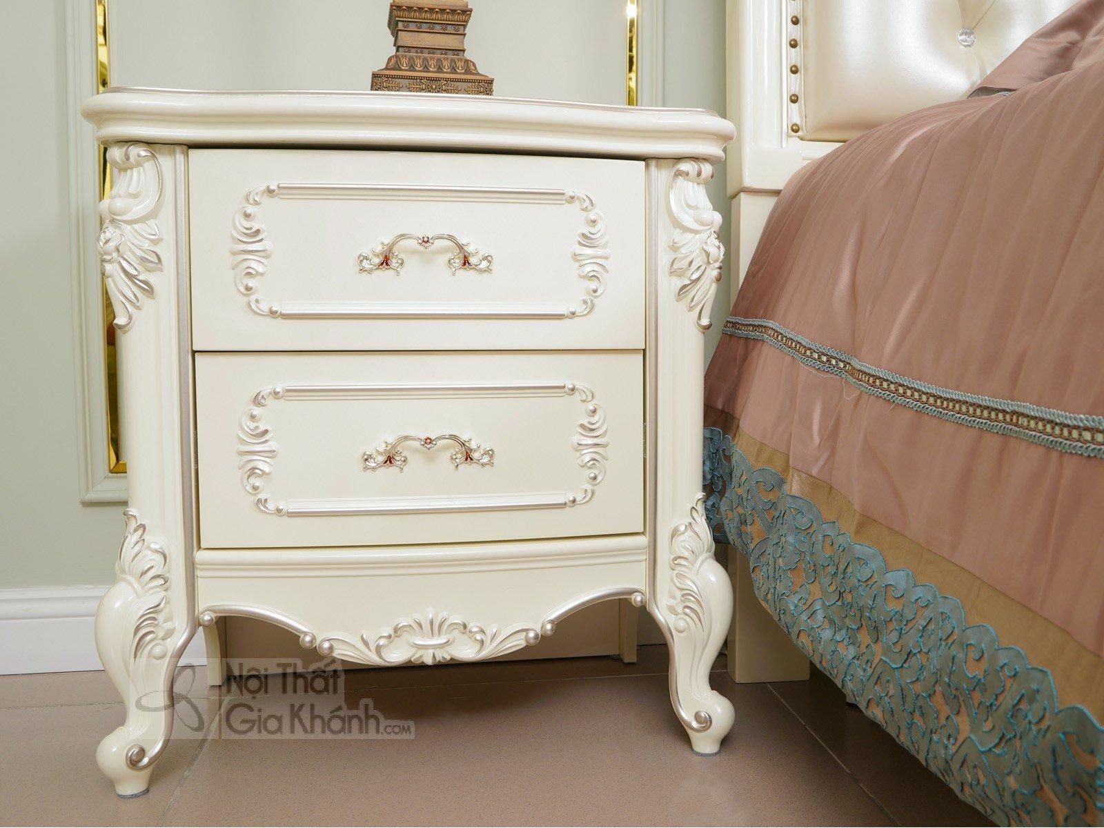 Táp đầu giường phong cách Pháp H8802B - tap dau giuong tan co dien H8802B 580x400x603