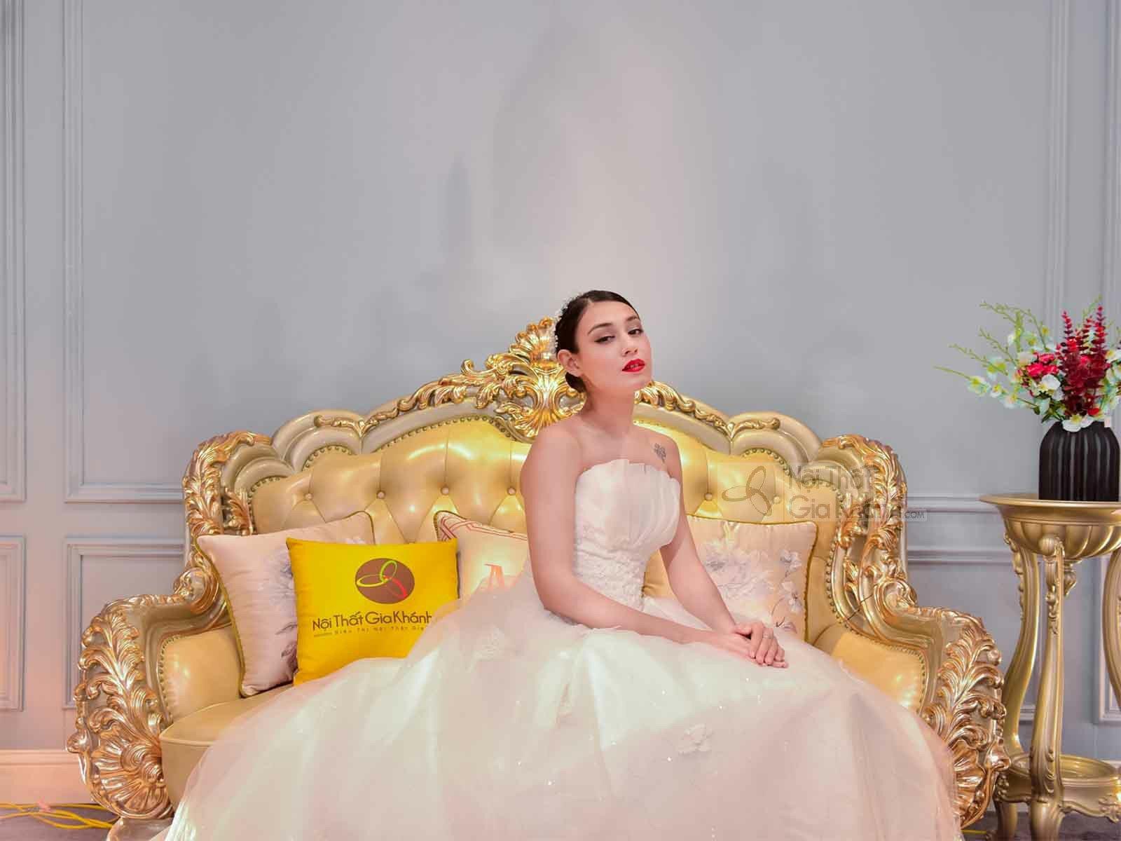 BỘ SOFA TÂN CỔ ĐIỂN ĐẮT GIÁ NHẤT VIỆT NAM - THE DIAMOND KING - the diamond kin bo noi that dat gia nhat the gioi 20