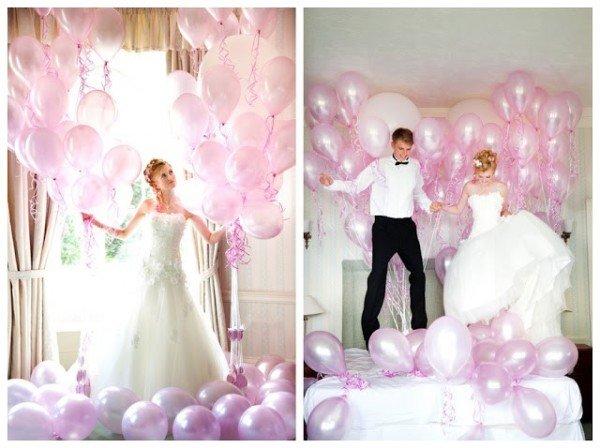 Cách trang trí phòng cưới bằng bóng bay và hoa hồng lãng mạn nhất - trang tri bang bong bay
