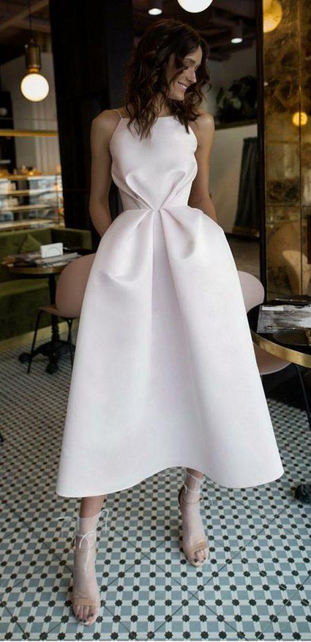10 thiết kế váy cưới ngắn vừa trẻ trung nhưng vẫn sang trọng - vay co yem