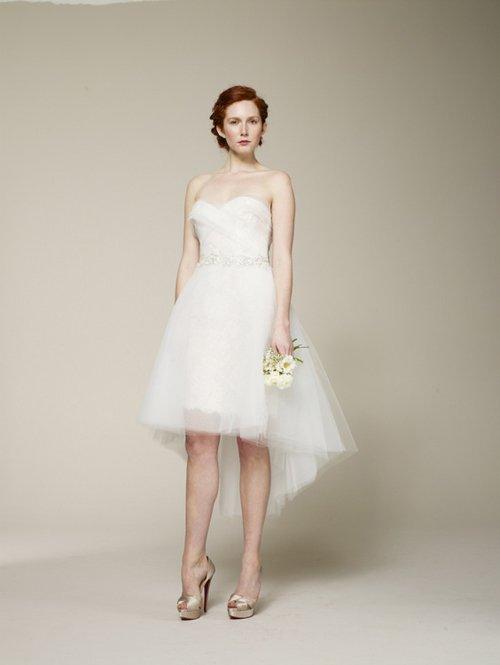váy cưới ngắn mullet